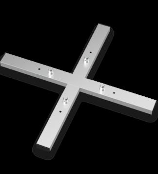 MXA-1000 Traversen Bodenplatte mit Konusverbindern