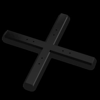 MXA-1000 Traversen Bodenplatte Schwarz