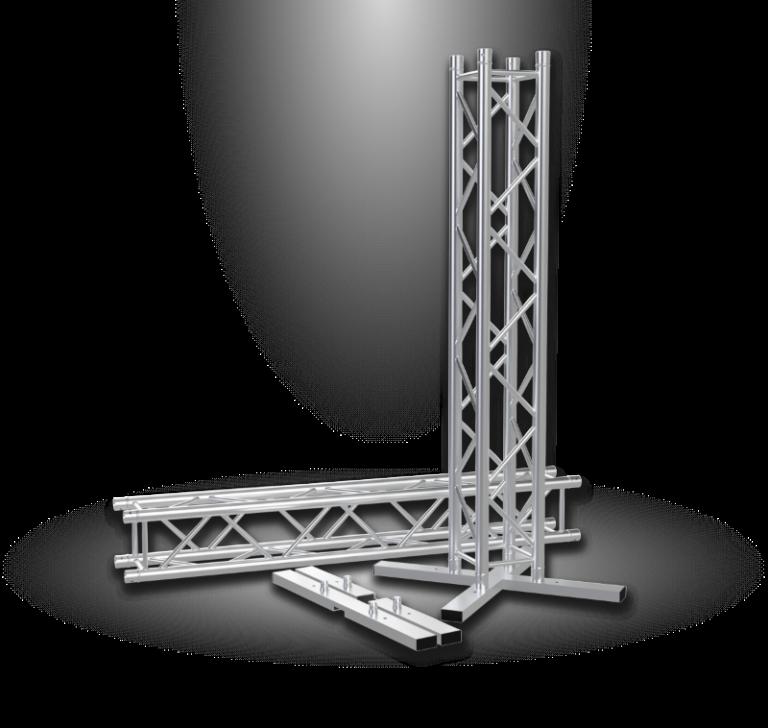 Vertitruss MXA-1000 Traversen Bodenplatte und Truss Turm mit 2 meter Traverse