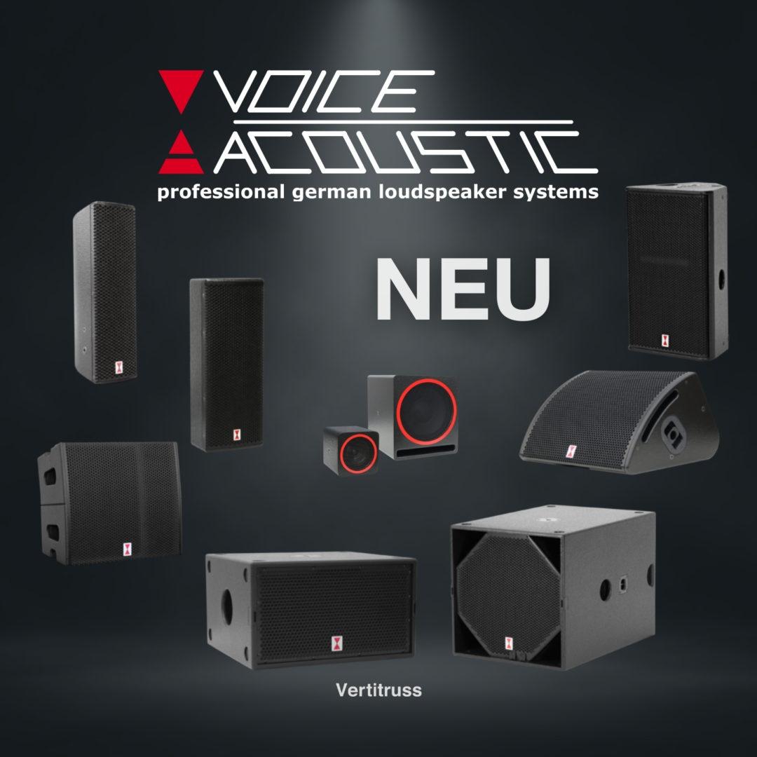 Voice Acoustic jetzt neu bei vertitruss