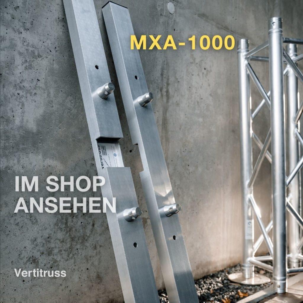 Vertitruss MXA-1000 auseinandergebaut mit Traverse jetzt im Shop ansehen